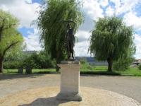 Statue Parc F. Mitterrand