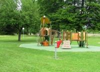 Jeu dans le parc de...